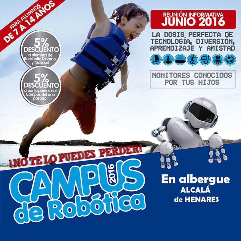 Campus de rob tica alcal de henares barcelona for Aprender a cocinar en alcala de henares