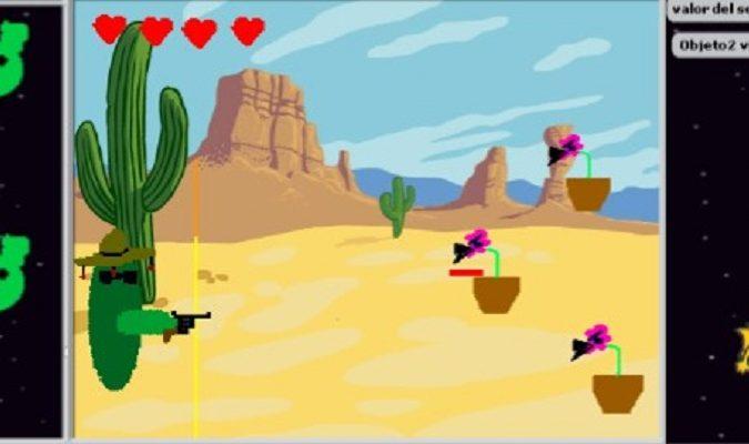 Videojuegos flappy-bird en Scratch