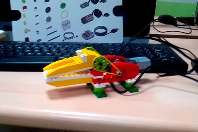 Combinando LegoWedo con Scratch, el Zoo