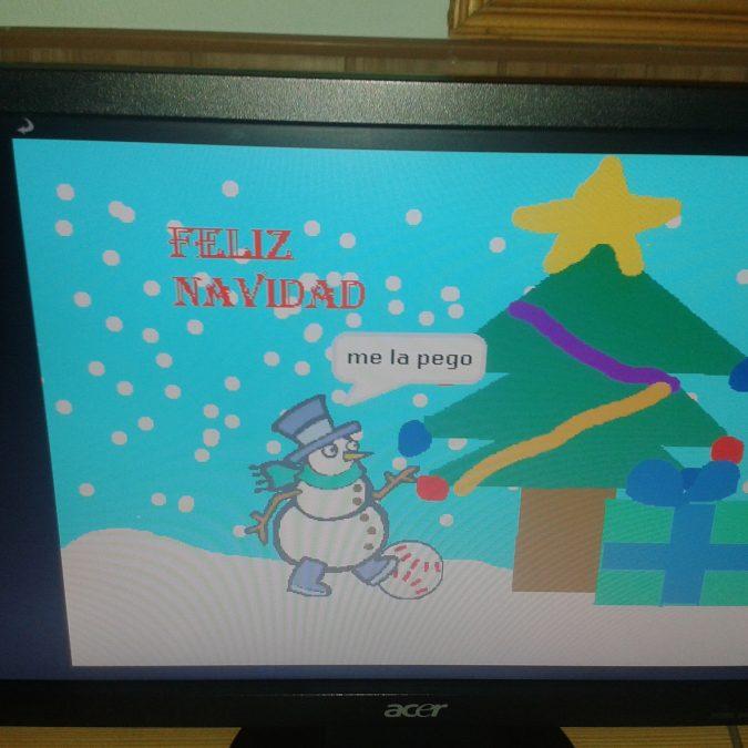¡El colegio Santo Ángel de la Guarda os desea una Feliz Navidad!
