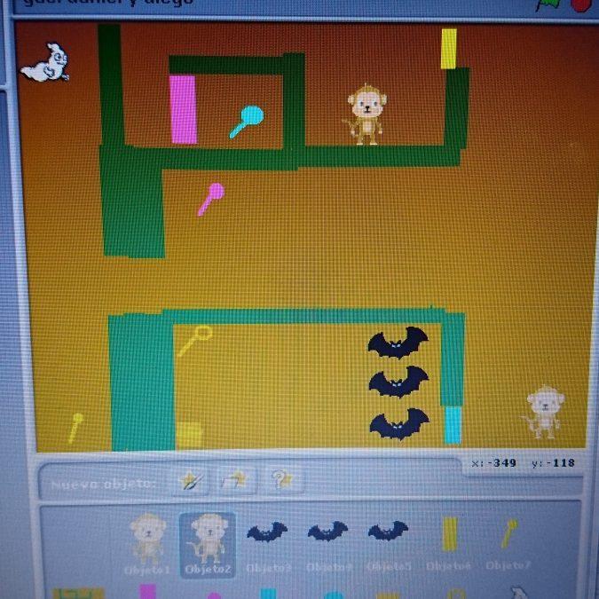 ¡Semana de videojuegos con Scratch!