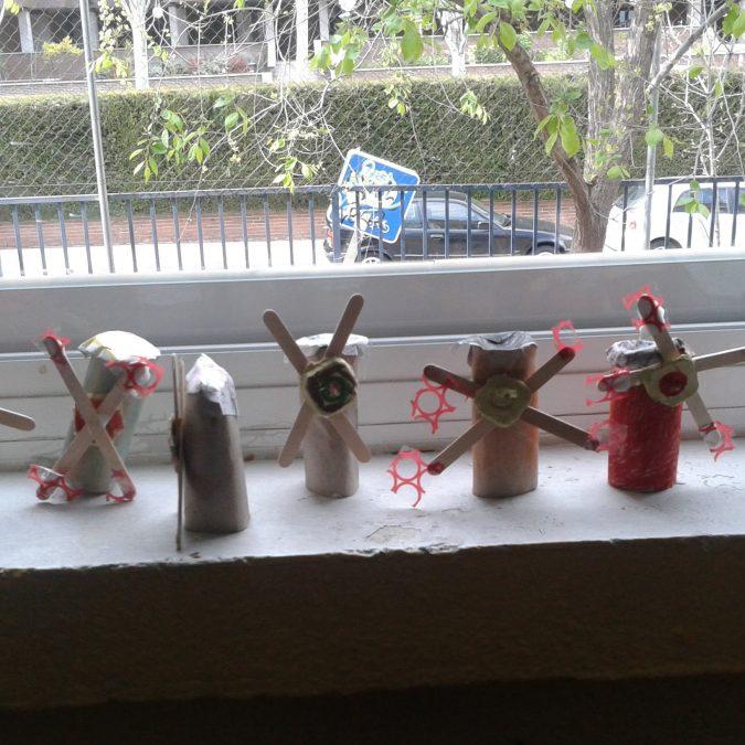 Molinos para Infantil en el Lorenzo Luzuriaga