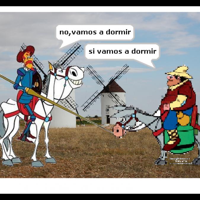 Scratch y El Quijote en el Nuevo Equipo