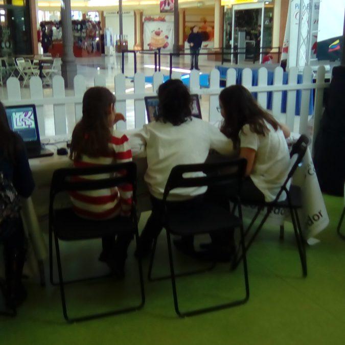 Inolvidable taller de videojuego en el Parque Corredor