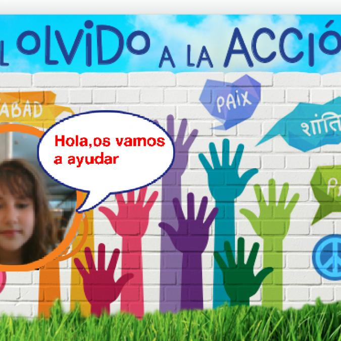 #ScratchDay, el mural de Rockbotic en #delOlvidoalaAcción