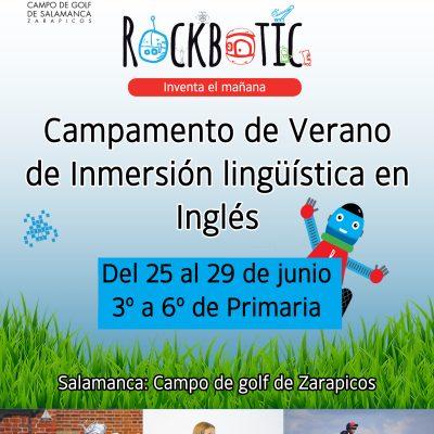 CAMPAMENTO DE VERANO DE INMERSIÓN LINGÜÍSTICA EN INGLÉS: