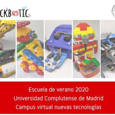 Escuela de verano 2020: campus virtual de nuevas tecnologías