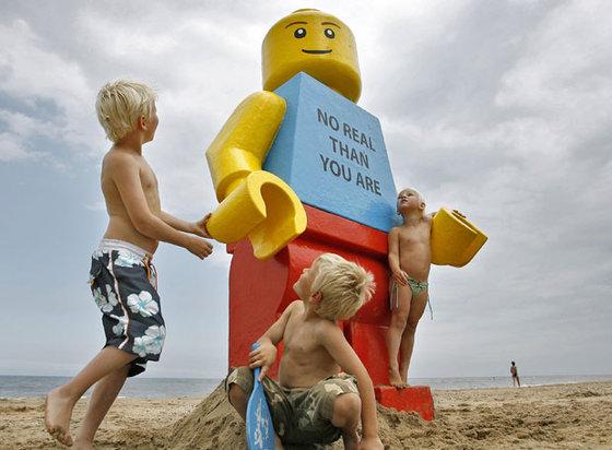 muñeco playa