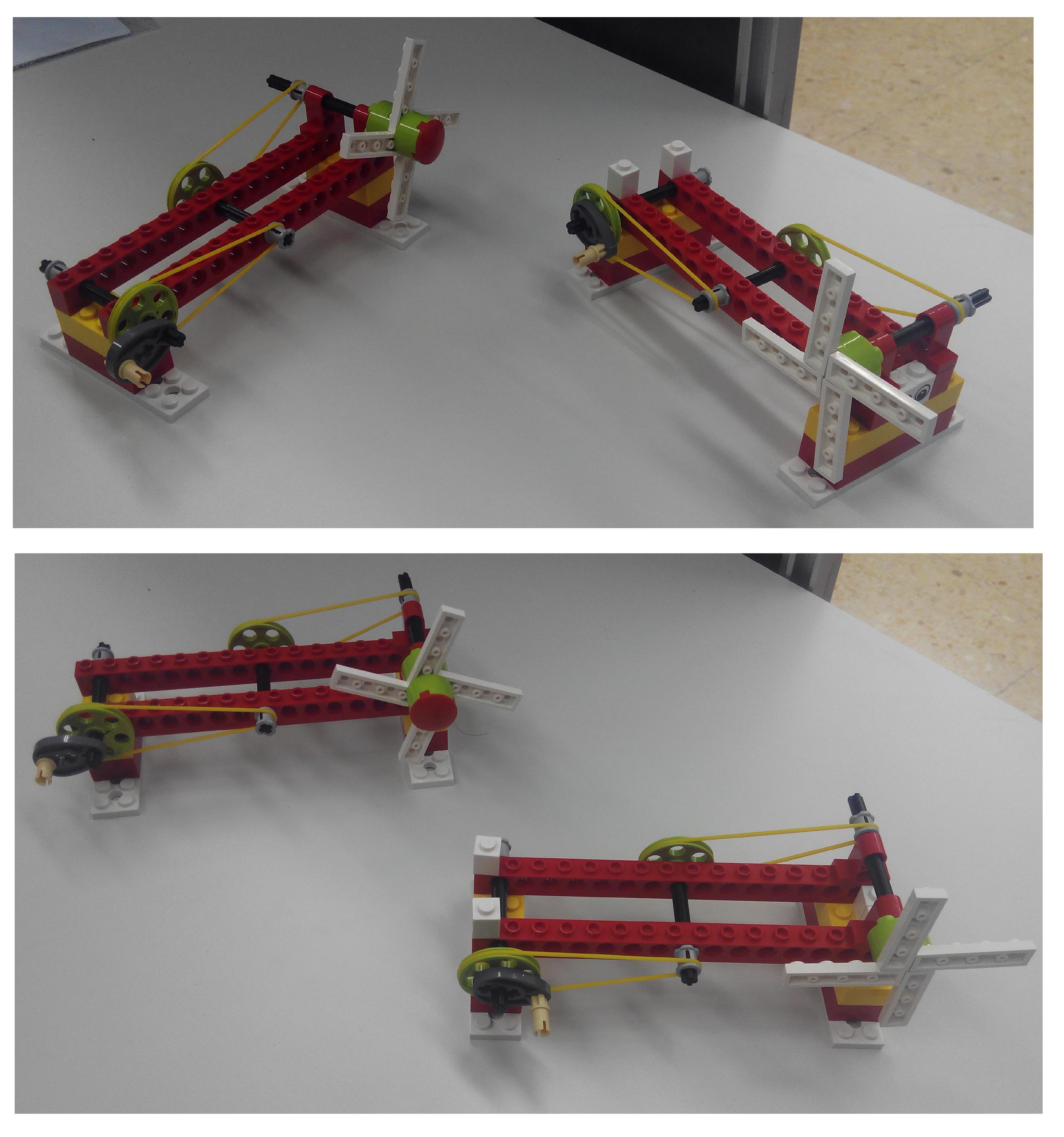 Construyendo máquinas simples