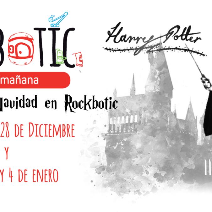 Navidad con Harry Potter en Rockbotic