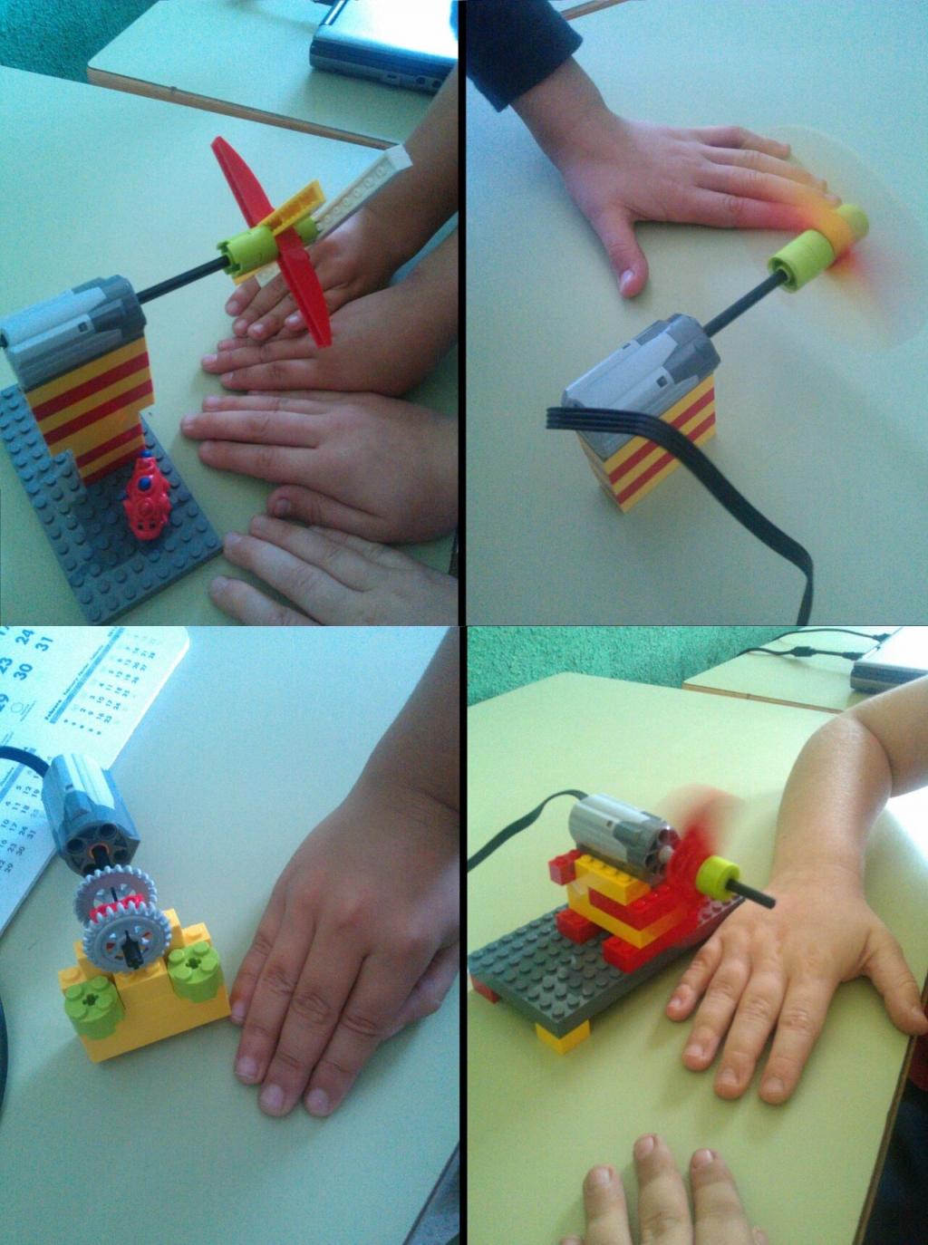 Inicios con el kit de Lego WeDo en el Jovellanos