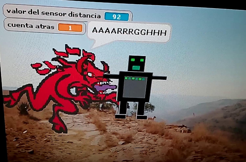 Videojuego: Demonio vs Robot