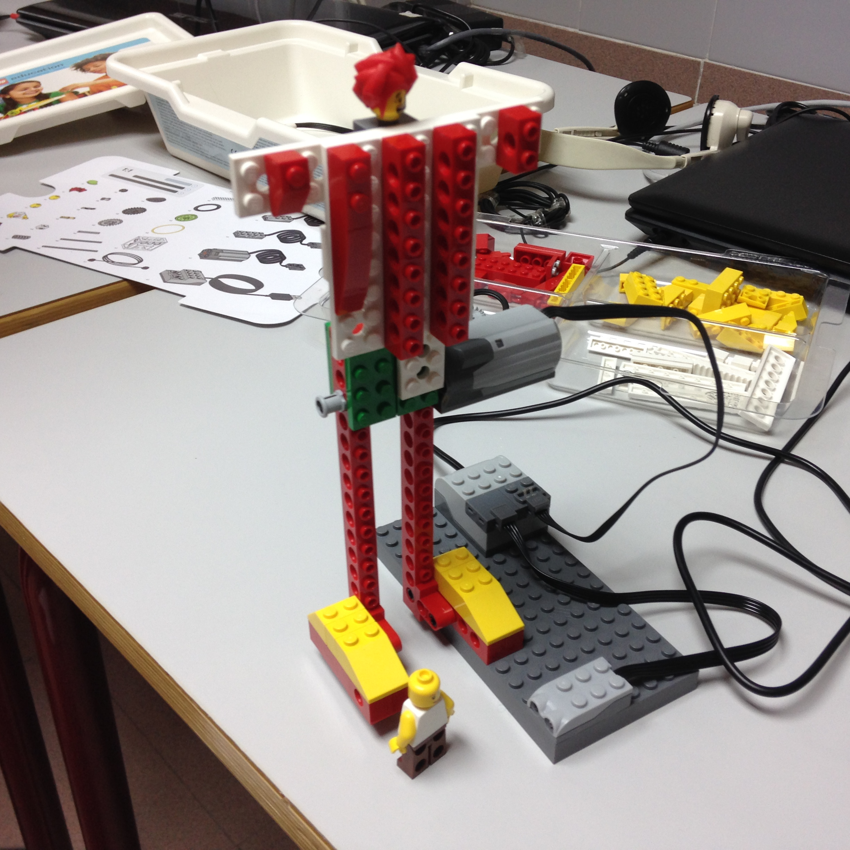 robotica-lego wedo-educacion-chutador-motor-sensor