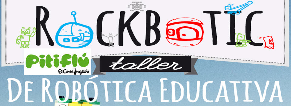 """RockBotic en los Centros Comerciales de """"El Corte Ingles"""" en Junio 2015"""