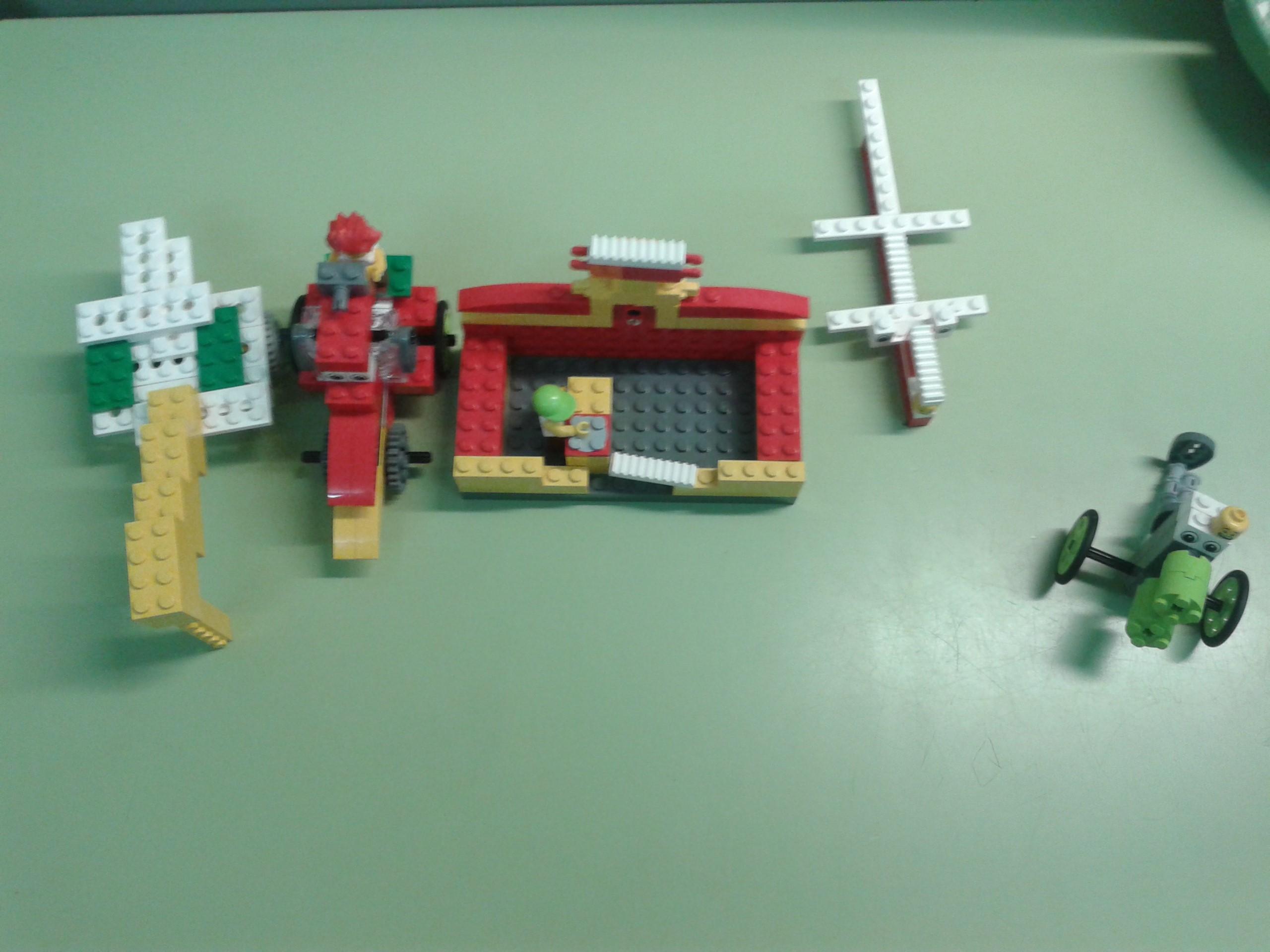 Aprendiendo con Lego en el Nuevo equipo