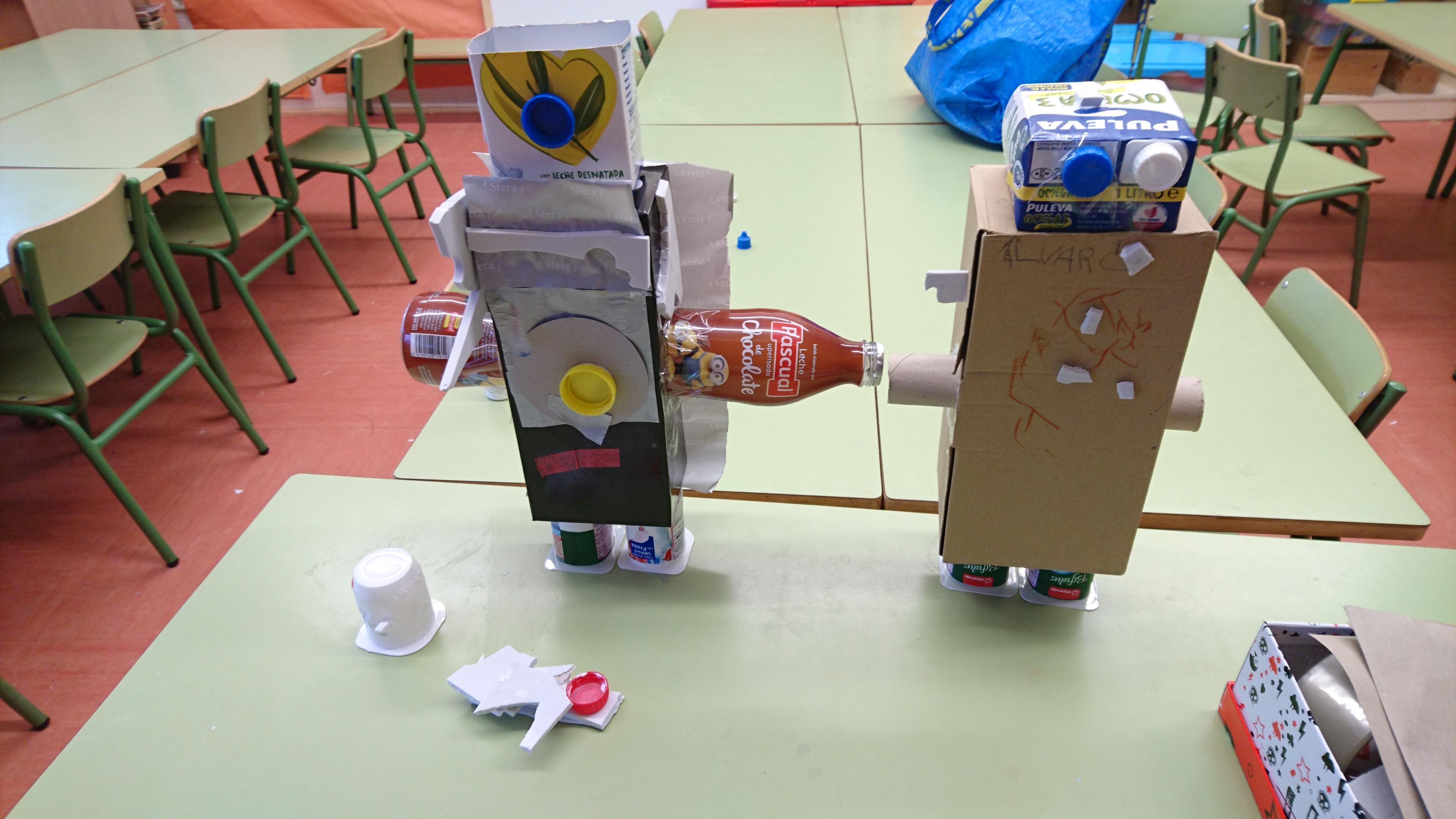 ¡Recicla-Bots en Ciudad de Roma!