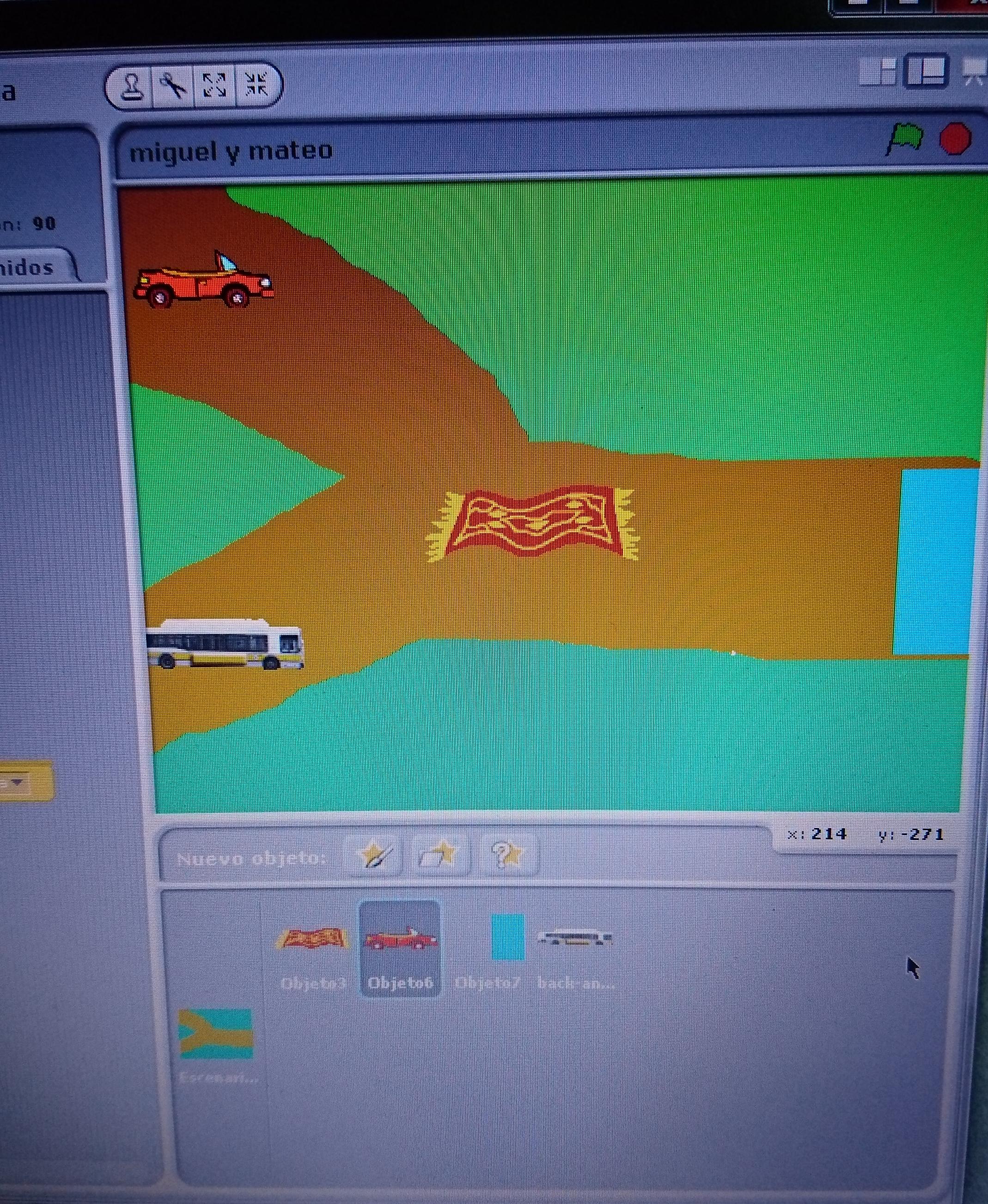 ¡Creando un videojuego!