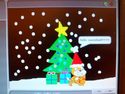 Scratch navideño