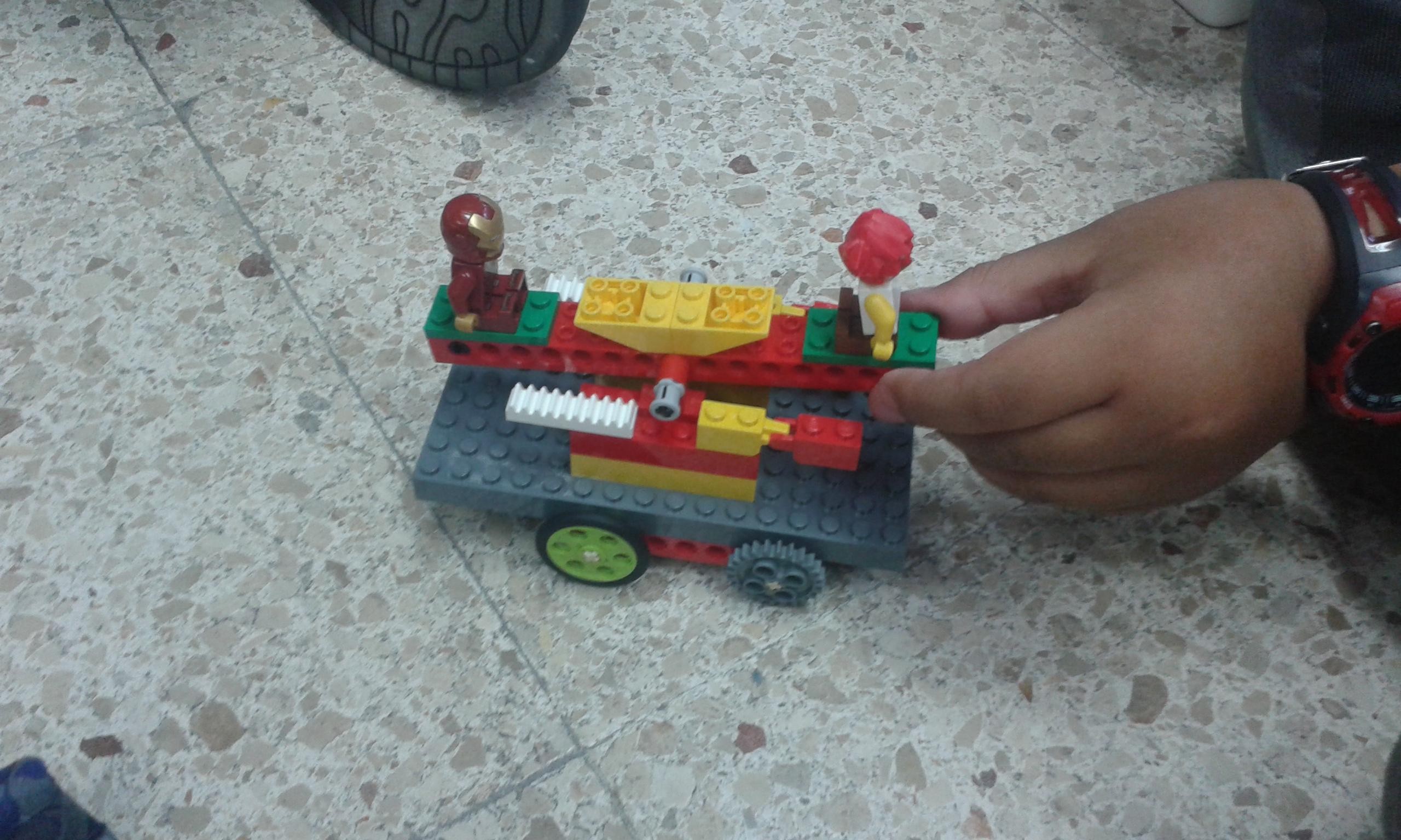 De palancas, vagonetas y otros vehículos extravagantes.