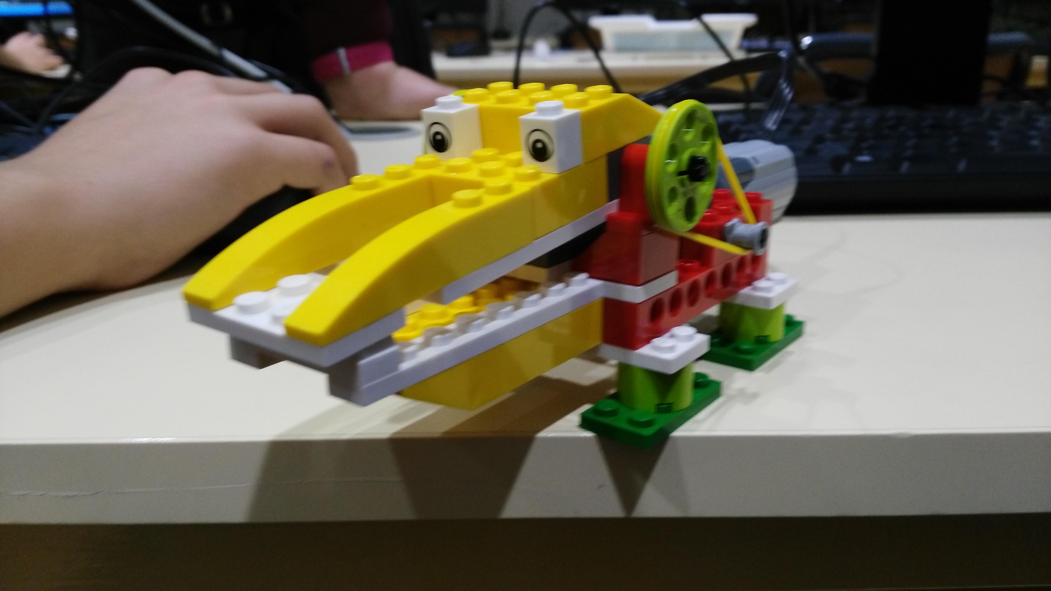 """Nuestro amigo, """"Alligator"""" un caimán con mucha hambre."""