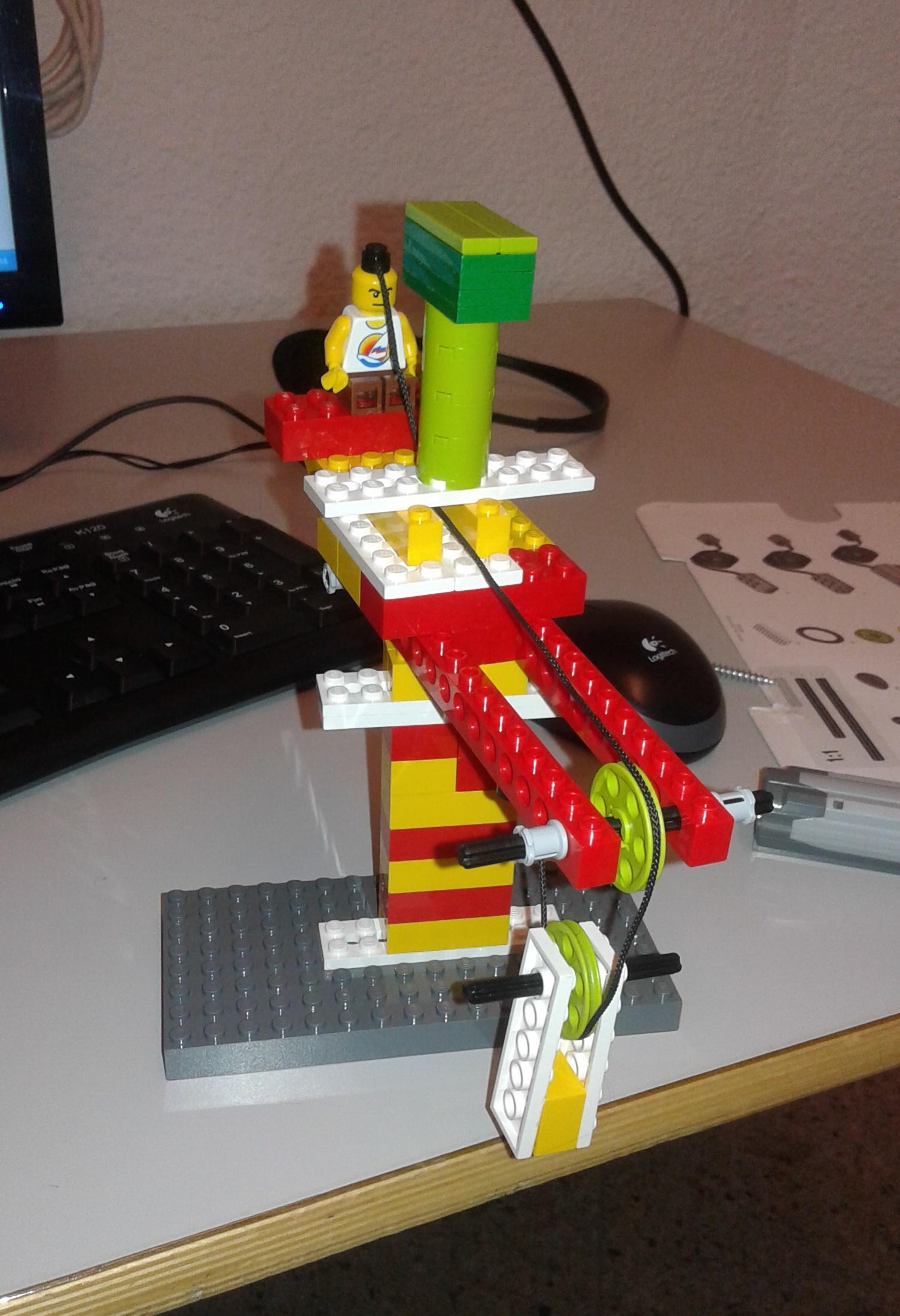 ¡Grandes construcciones con poleas!