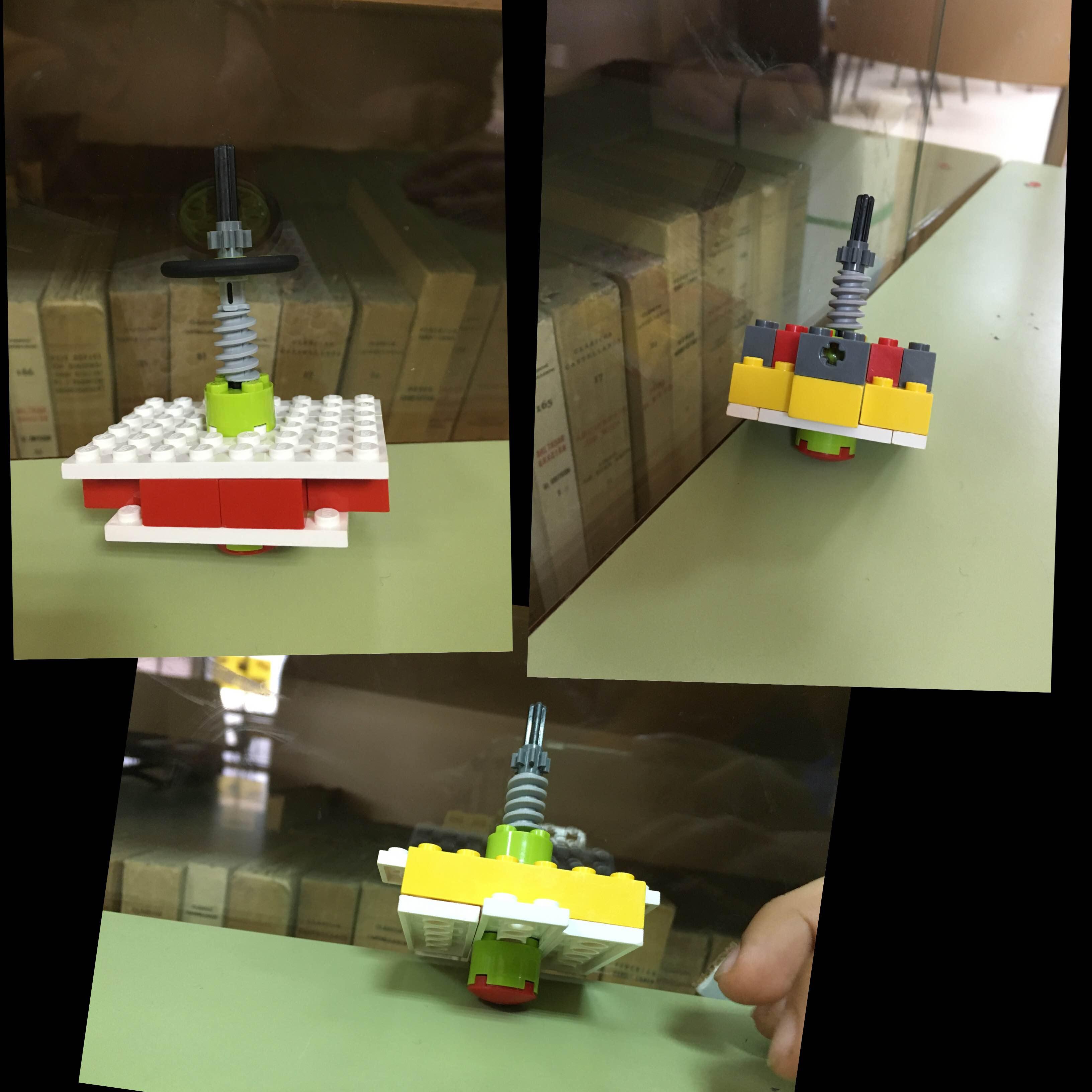 Competición de peonzas robóticas