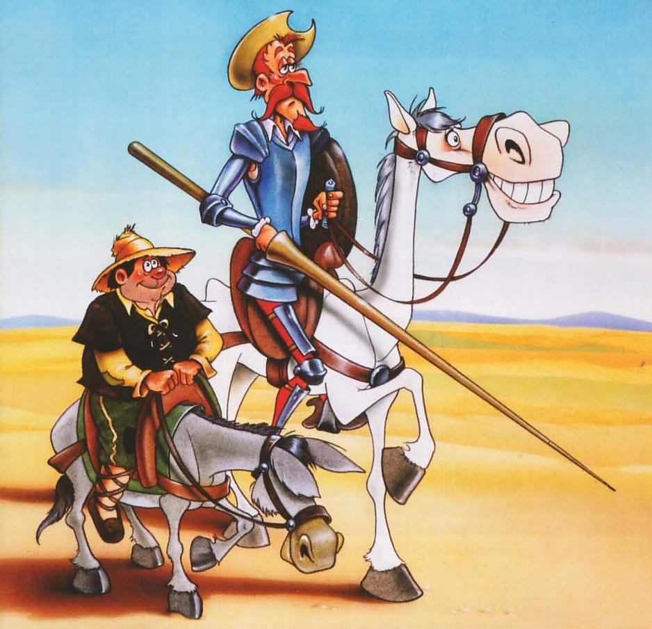 Atención!Don Quijote de la Mancha llega al Villar Palasí