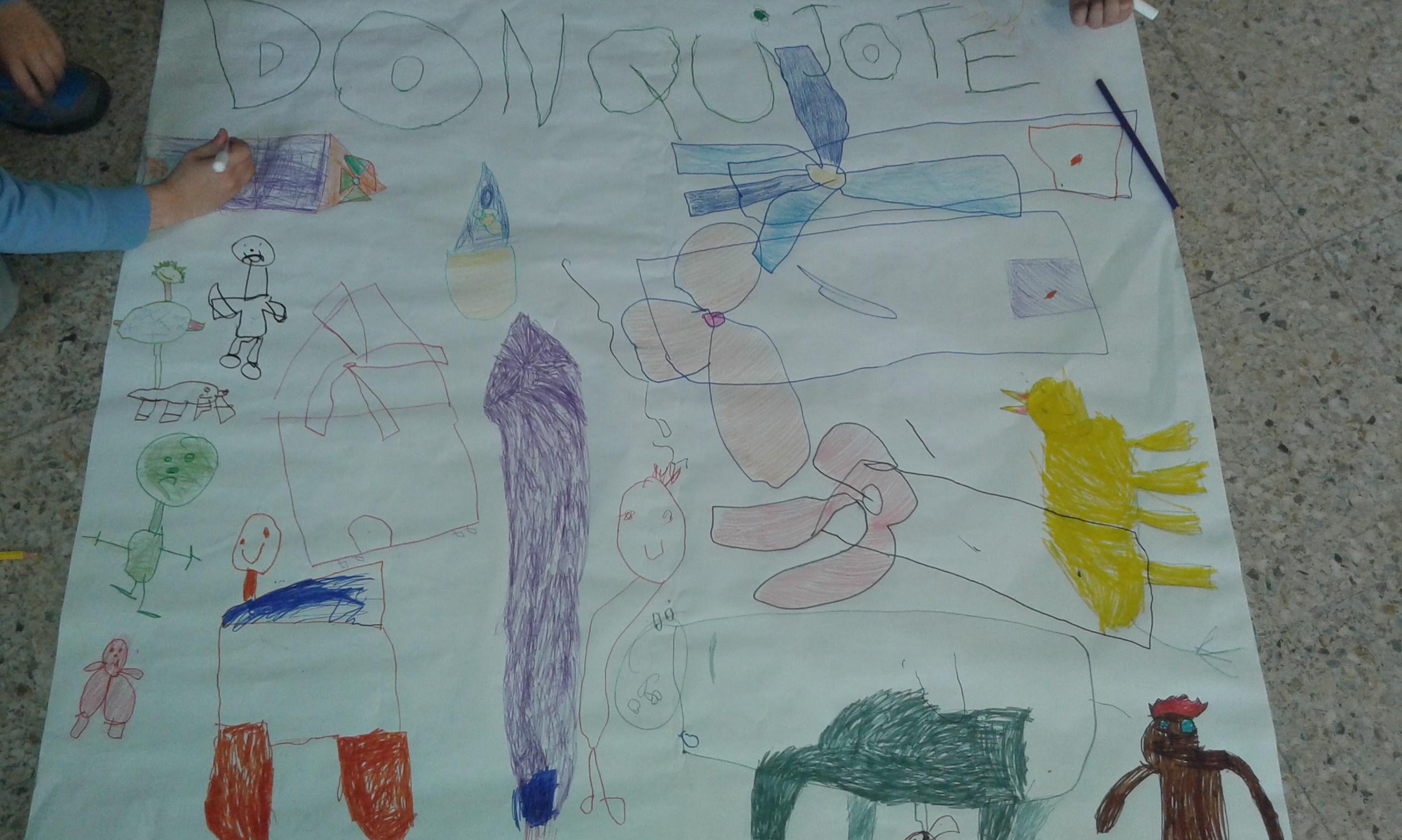 Arte con Cervantes