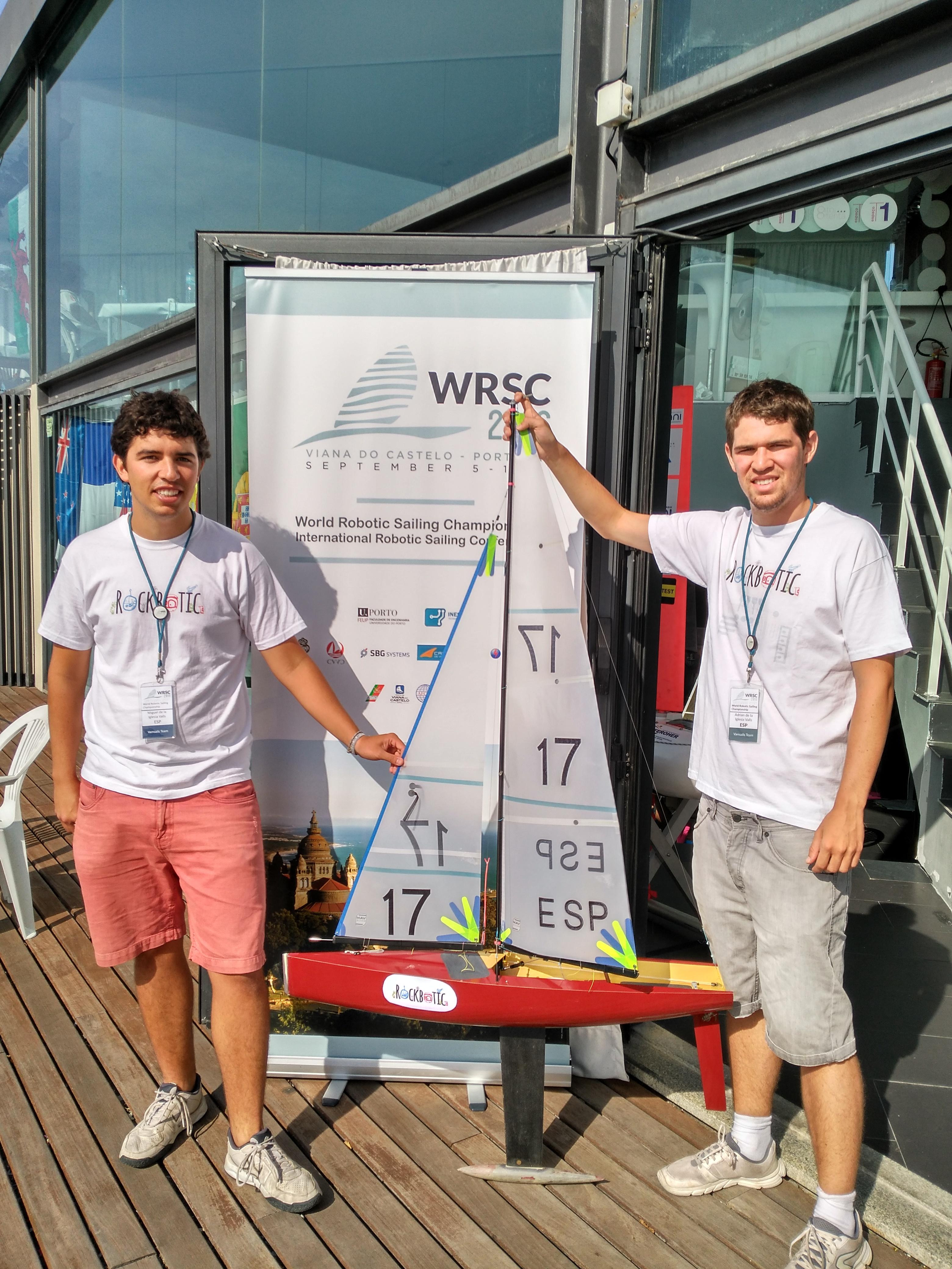 El RockBoat en la WRSC