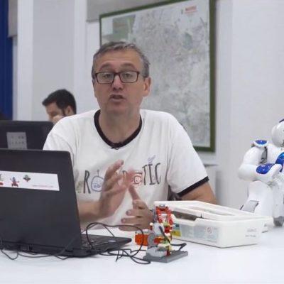 Reportaje en TV sobre Rockbotic y su labor con la robótica educativa