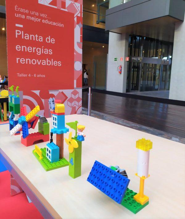 Planta de energías renovables con kits de robótica educativa