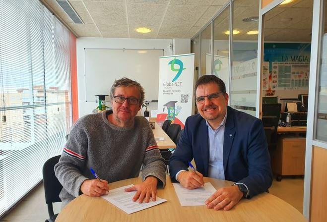 Acuerdo de colaboración entre Rockbotic y GlobalNET Solutions